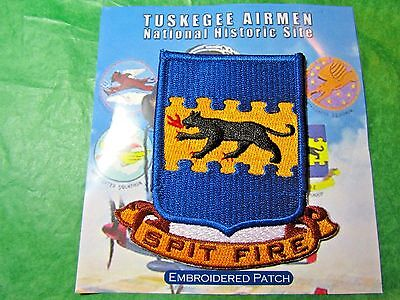 Tuskegee Airmen National Historic Site Spit Fire Patch Alabama Travel (462)
