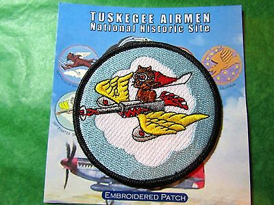 TUSKEGEE AIRMEN N H S 301st FIGHTER SQUADRON EMBROIDERED PATCH ALABAMA (131)