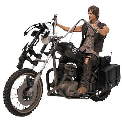"The Walking Dead - 10"" Daryl Dixon with Chopper Action Figure Set McFarlane Toys"