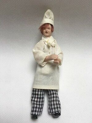 1:12 Scale Dolls House Chef Used