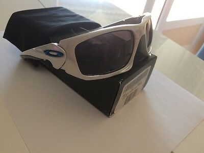 Oakley Scalpel White Chrome