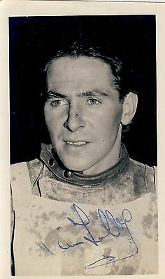 Speedway Photograph-Jim Tolley Birmingham Rider 40s Autographed     (SP610)