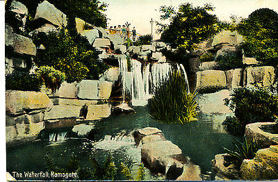 KENT - 1909 RP Postcard of The Waterfall, Ramsgate. - Posted locally