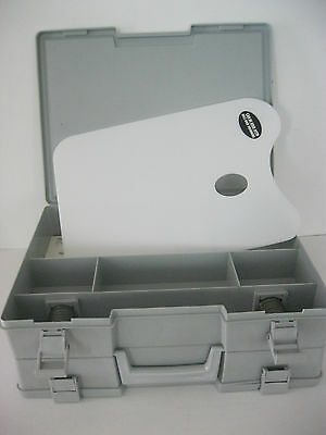 Rare ArtBin Two-sided Artist Sketch Box #2 Paint one side & pads  other side