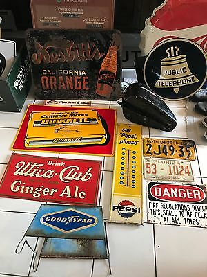 Rare Vintage Good Year Tire Display Rack / Advertising Tire Display Sign
