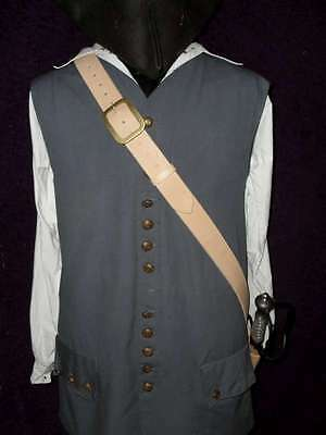 "2"" wide pirate sword baldric LARP SCA REENACTMENT"