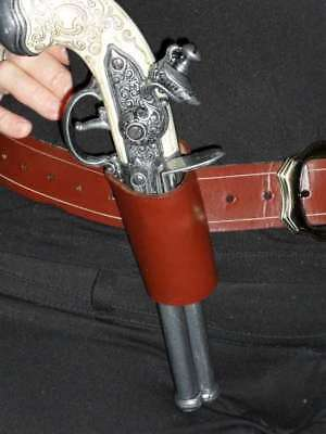 Pirate Flintlock Holster or Bucket Reenactment LARP SCA