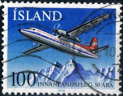 Iceland.  1978.  50th Anniversary of Domestic Flights.  SG564.  Used.