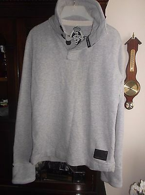 Made by Superdry- Men's Quality Grey Sweatshirt / Top - Size Medium