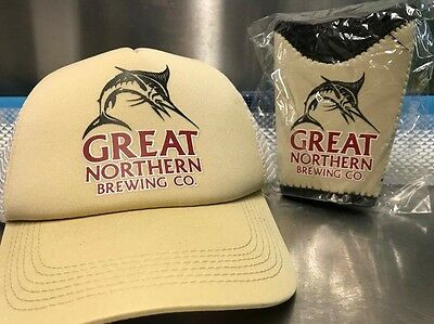 Great Northern hat and cooler gift pack