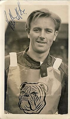 Speedway Photograph-Billy Hole Bristol Autographed  (SP639)
