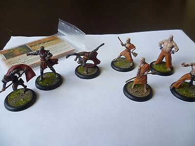 Temple of the Dawn Shenlong painted Malifaux crew
