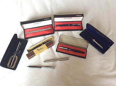 fountain pens, parker, sheaffer and waterman