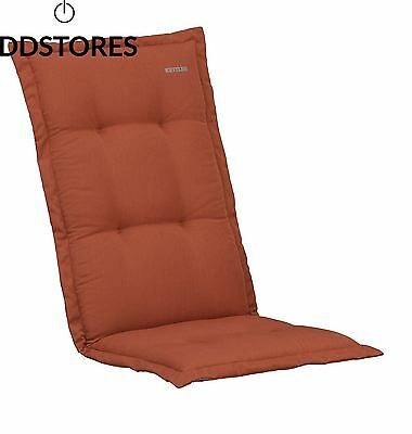 Kettler 0309507 8767 Coussin pour chaise empilable Rouge 110 x 48 9 cm