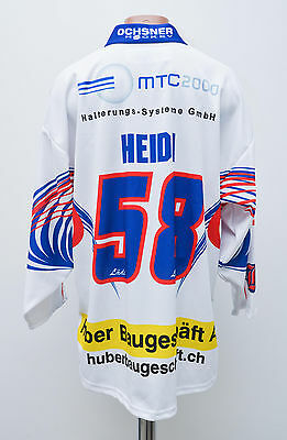 Ehc Bassersdorf Switzerland Ice Hockey Shirt Jersey Ochsner Swiss Heidi #58