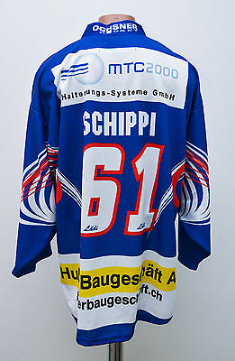 Ehc Bassersdorf Switzerland Ice Hockey Shirt Jersey Ochsner Swiss Schippi #61