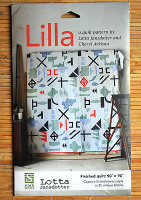 Lilla Sewing Quilt Pattern by Lotta Jansdotter and Cheryl Arkison - NEW