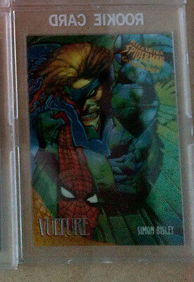 Spider Man 1995 Fleer Ultra - GOLDEN WEB - CARD 9 OF 9 VELTURE
