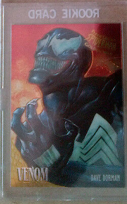 Spider Man 1995 Fleer Ultra - GOLDEN WEB - CARD 8 OF 9 VENOM