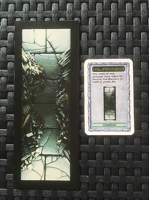 Warhammer Quest Game Card and Board from White Dwarf 192