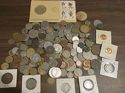 Huge lot Foreign Coins Coinage Currency 1816-Pres