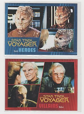 Star Trek Voyager - Heroes & Villains - #d Lot - Rittenhouse 2015