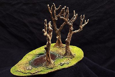 Pre-Painted Wooded Pond Terrain Piece Warhammer 40K, D&D,AoS terrain & scenery