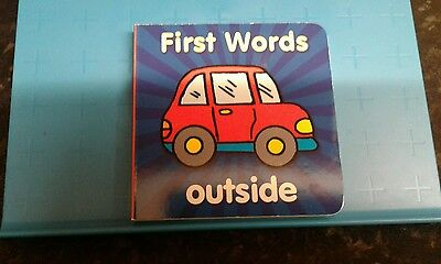 First Words Outside Children's Book, New.