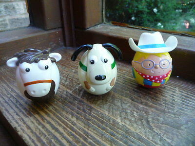 nestle  weebles  milky  bar  kid  horse  and  cow