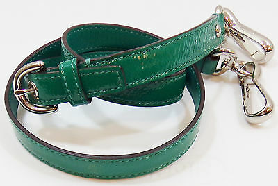Coach Green Patent Leather Replacement Adjustable Crossbody Shoulder Strap