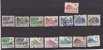 China 1962 Definitive Stamps From Old Album Wk10 Page 28