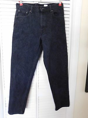 Men's Levi's 550 Relaxed Fit Tapered Leg Jeans 36X30 Made USA Cotton See Descrip