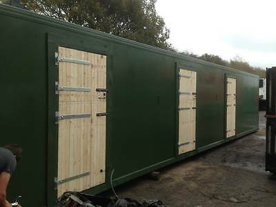 insulated stable block, calf rearing blocks, sheep housing, pig housing, horses