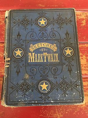 Mark Twain SKETCHES NEW AND OLD 1st ED 1875 Illustrated HC