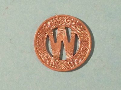 *** Wichita Transportation Co. Transit Token - Very nice.  First one here!