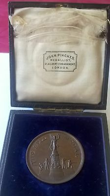 The Bell Medal Awarded To The Society Of Miniature Rifle Clubs Boxed