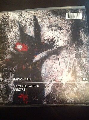 "7"" Vinyl Single RADIOHEAD Spectre / Burn The Witch MINT And Super Rare"