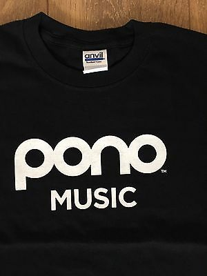 Neil Young Pono Pearl Jam Tour Eddie Vedder T Shirt Medium New