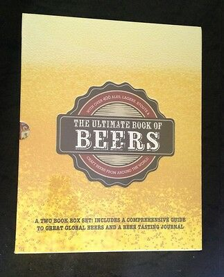 "The Ultimate Book Of Beers Box Set  "" Brand New "" Sealed Hard Cover"