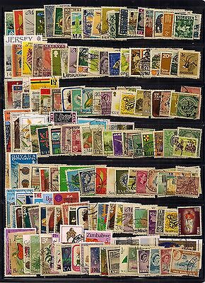 Commonwealth-New Selection Of 150 Fine Used Stamps.looks All Different.nice Sort
