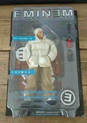 Bnib Very Rare Eminem Figure My Name Is Eminem Boxed Art Asylum 2001
