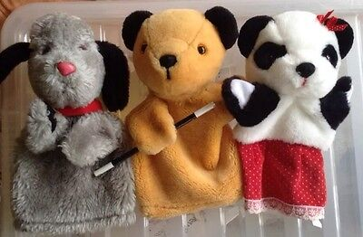 Sooty, Sweep And Soo Glove Puppets