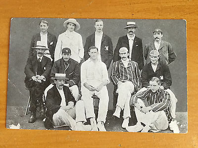 1900s MCC ? Team Photograph Postcard unposted vgc info welcomed