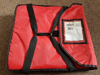 Red pizza delivery bag *barely used*