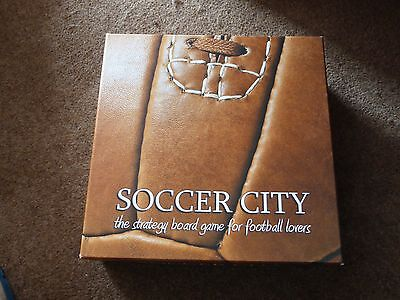 Rare Soccer City strategy board game Brand New