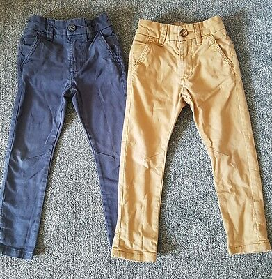 Boys skinny chinos/trousers age 3-4 years *Next*