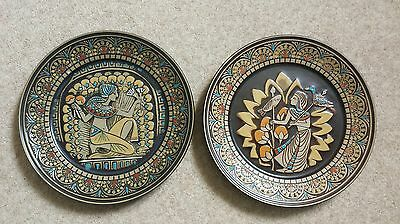 Denby Egyptian Collection Limited Edition  Plates No 1130. Immaculate condition!