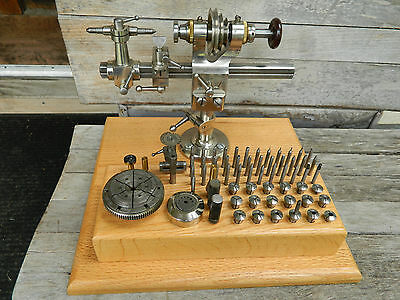 Lorch Schmidt & Co Watchmaker's Lathe & Chuck