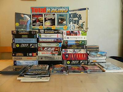 Job Lot of Cheap PC Games - Sale of Collection Ideal for Shop or Resale