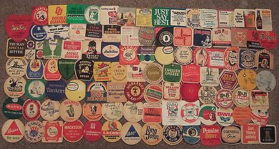 BEER MATS - 100 Different